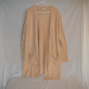 a. New Day Light Pink Cardigan with pockets